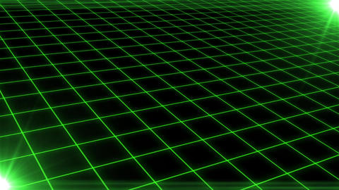 Grid CG Green CG動画