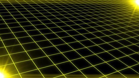 Grid CG Yellow CG動画