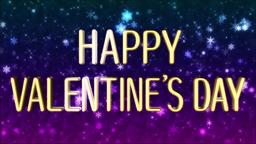 Valentine バレンタイン タイトル ループ CG動画