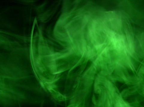 Green Smoke 1 Footage