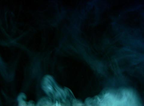 Turquoise Smoke 4 Stock Video Footage