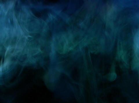 Turquoise Smoke 4 Footage