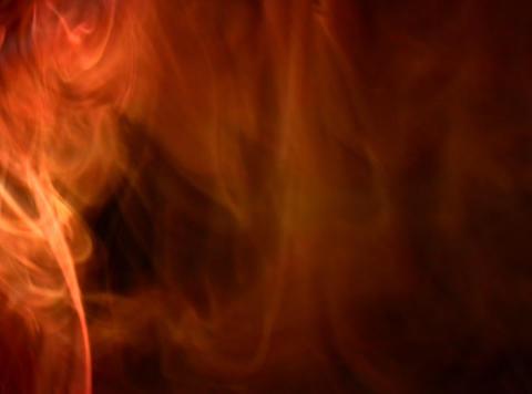 Orange Smoke 2 Footage