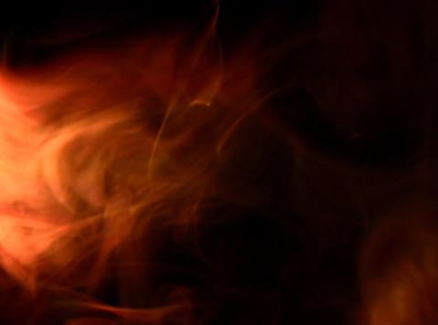 Orange Smoke 2 Stock Video Footage