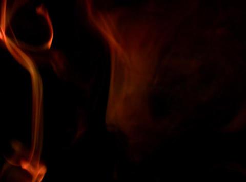 Orange Smoke 4 Stock Video Footage