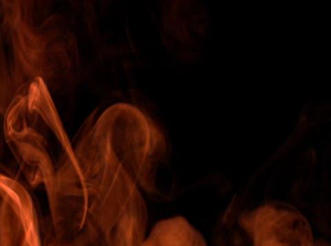 Orange Smoke 6 Footage