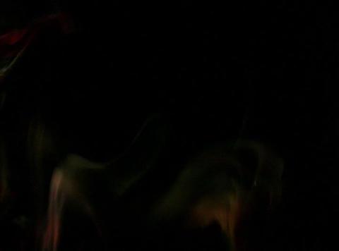 Orange Yellow Smoke 1 Stock Video Footage