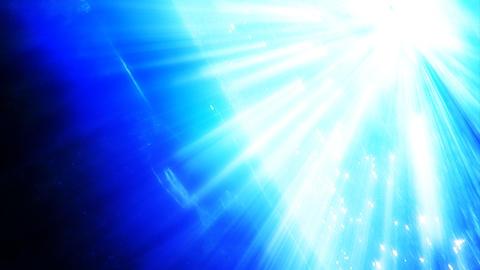 HD Underwater Sun Beam Stock Video Footage