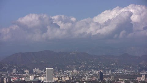 HD Hollywood sign Stock Video Footage