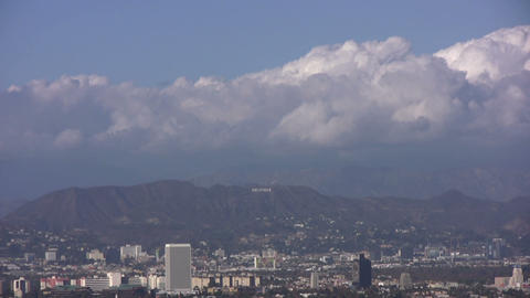 HD Hollywood sign Footage