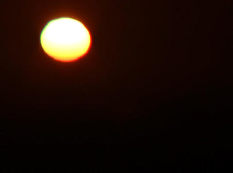 passing sunset 2 Stock Video Footage