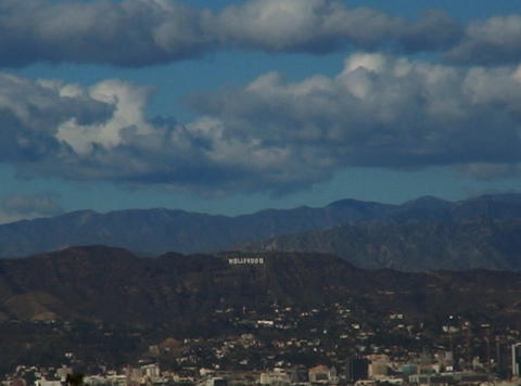 HollywoodSign 01 30sec Footage