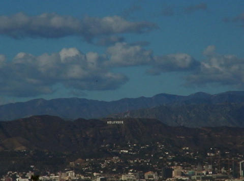 HollywoodSign 01 30sec Stock Video Footage