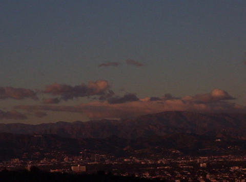 HollywoodSign 02 30sec Stock Video Footage