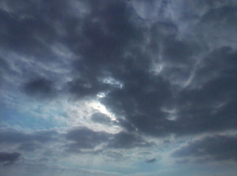 Time lapse Sky Clouds 02 30sec Stock Video Footage