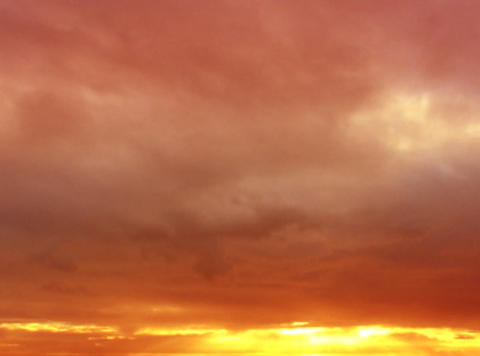 Time lapse Sunset Clouds 01 30sec Stock Video Footage