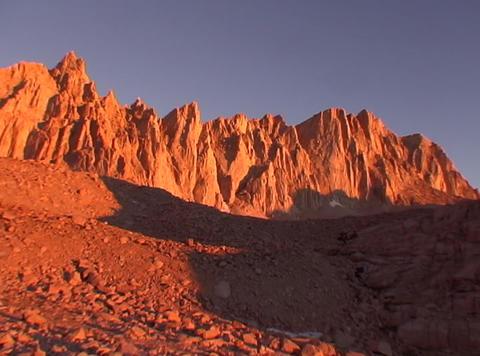 MtWhitey Sunrise Lapse 30sec Footage