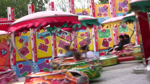 carousel Stock Video Footage