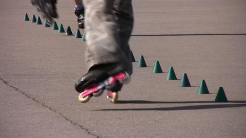 rollerblade Stock Video Footage