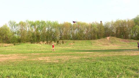 children with kite Footage