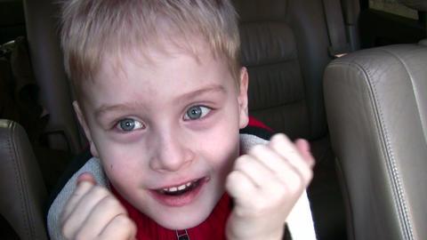 grimace boy Stock Video Footage