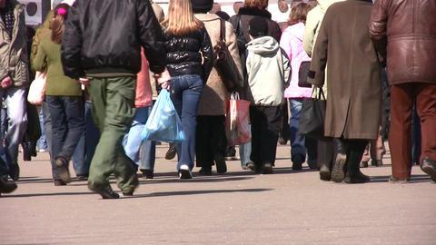 pedestrian Stock Video Footage