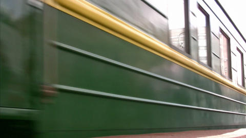 train wagon Stock Video Footage
