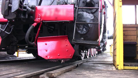 old train rotate Stock Video Footage