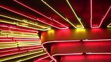 Night Neon Light stock footage