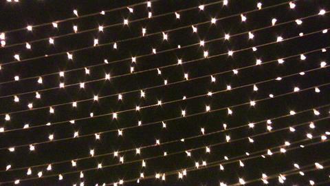 garland light night Stock Video Footage