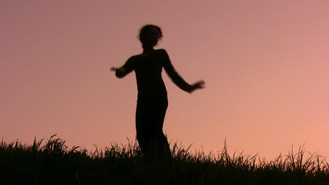 dancing girl Footage