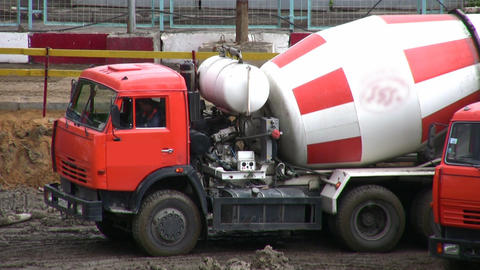 cement-mixer Footage