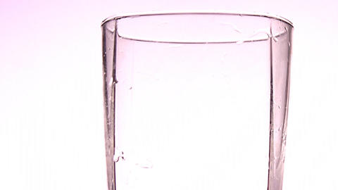 water glass Stock Video Footage