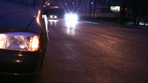 alarm light car Stock Video Footage