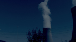 industry and pollution Stock Video Footage