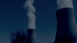 industry and pollution Footage