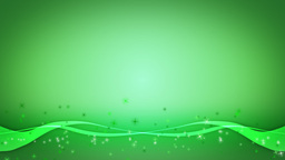 green background Animation