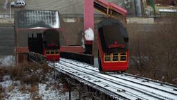 Classic Railway Transport (Fast) Stock Video Footage