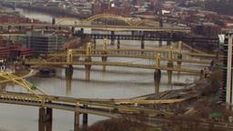 Bridges Overview Stock Video Footage
