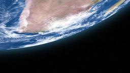 world map on globe Stock Video Footage