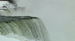 Close-Up Static View Of A Magnificent Waterfall (Low... Stock Video Footage
