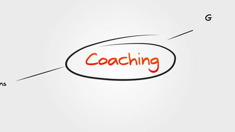 Coaching Sitemap Stock Video Footage