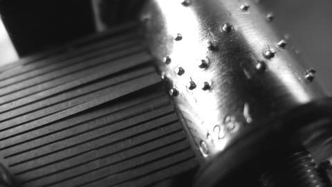 Music box. Close-up. Seamless Stock Video Footage