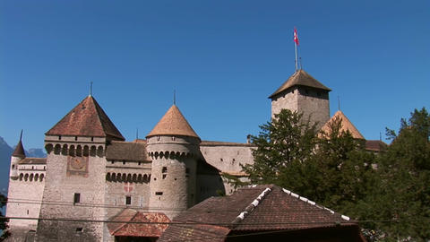 Chillon Castle a Footage