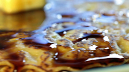 pancake Stock Video Footage