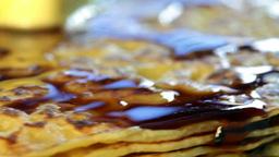 pancake Stock Video Footage