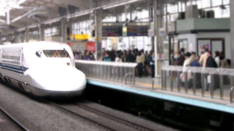 High-speed trains Footage