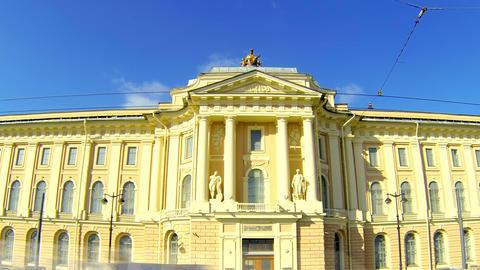 Saint-Petersburg Academy of art Footage