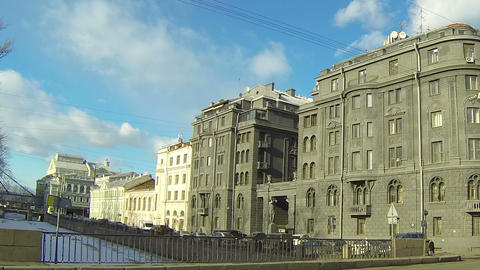 R.G.Vege's profitable house in St. Petersburg Stock Video Footage