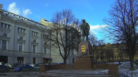 Conservatory in St Petersburg Stock Video Footage